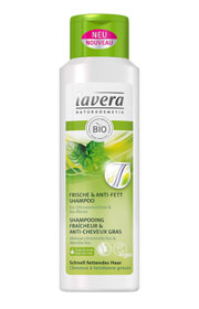 Shampoing Fraîcheur Anti-Cheveux Gras, Lavera