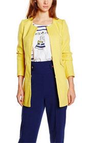 Manteau jaune pastel, Morgan