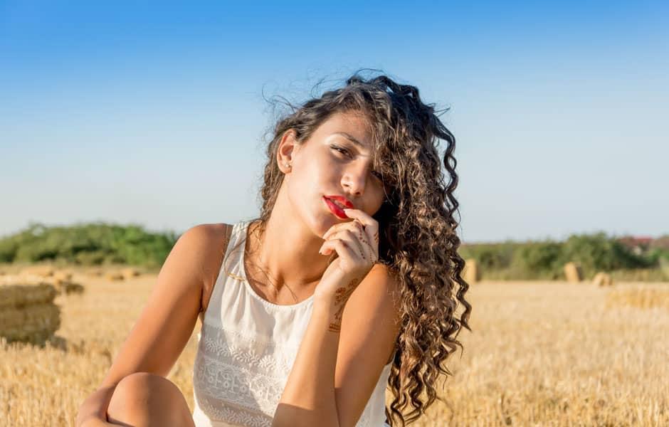 Beauté : soins aux cheveux bouclés