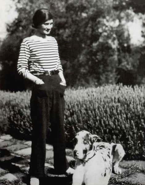 Histoire de la Mode, Gabrielle Chanel en 1928