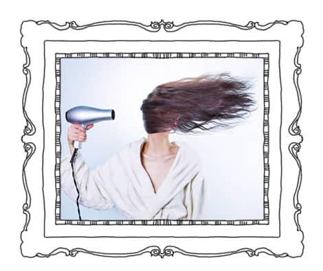 Soins ciblés pour les cheveux secs