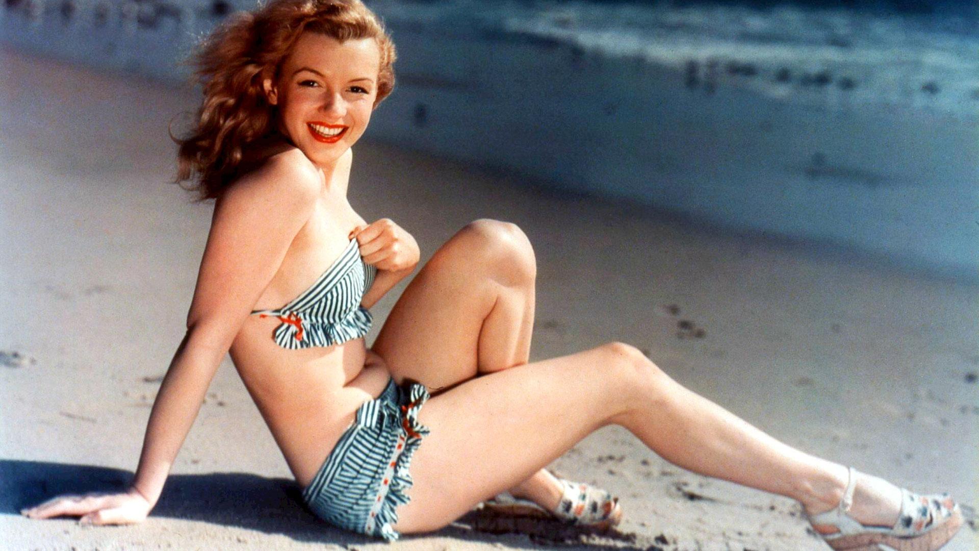 Années 1940, Marilyn Monroe en bikini