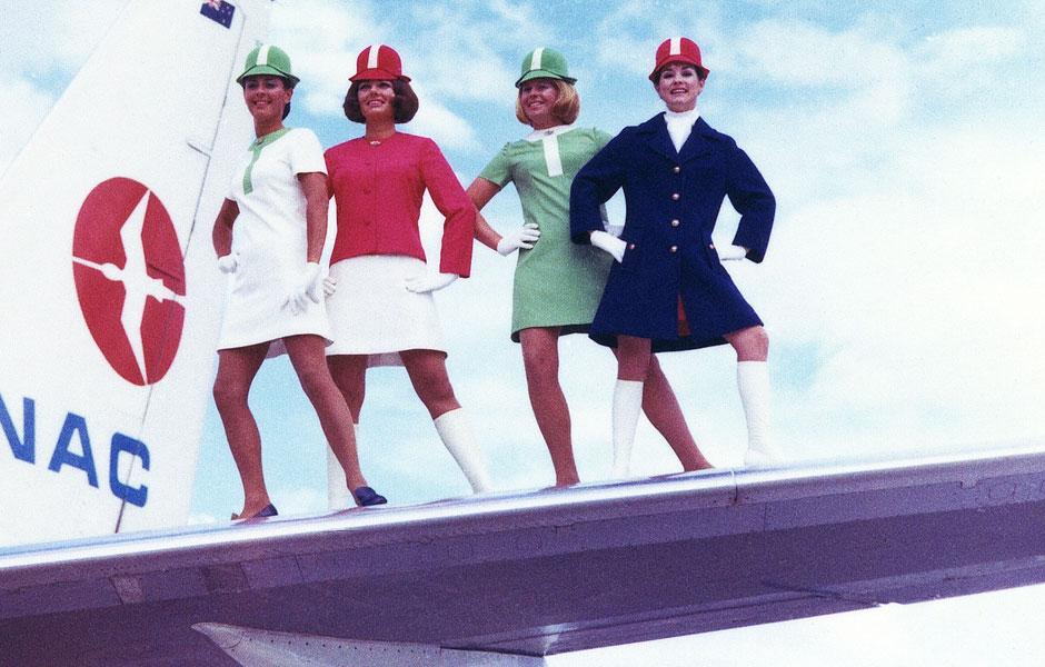 Sixites, hôtesses de la National Airways Corporation (NAC)