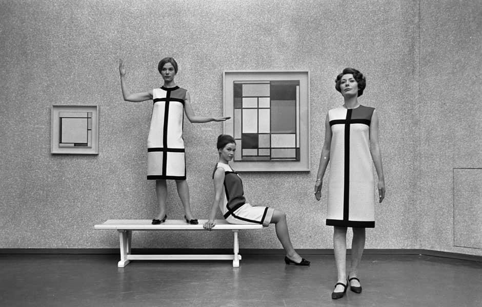 La Robe Mondrian d'Yves Saint Laurent en 1966