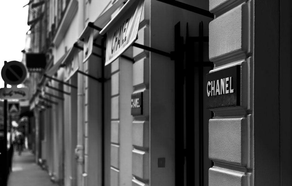 Chanel rue Cambon à Paris