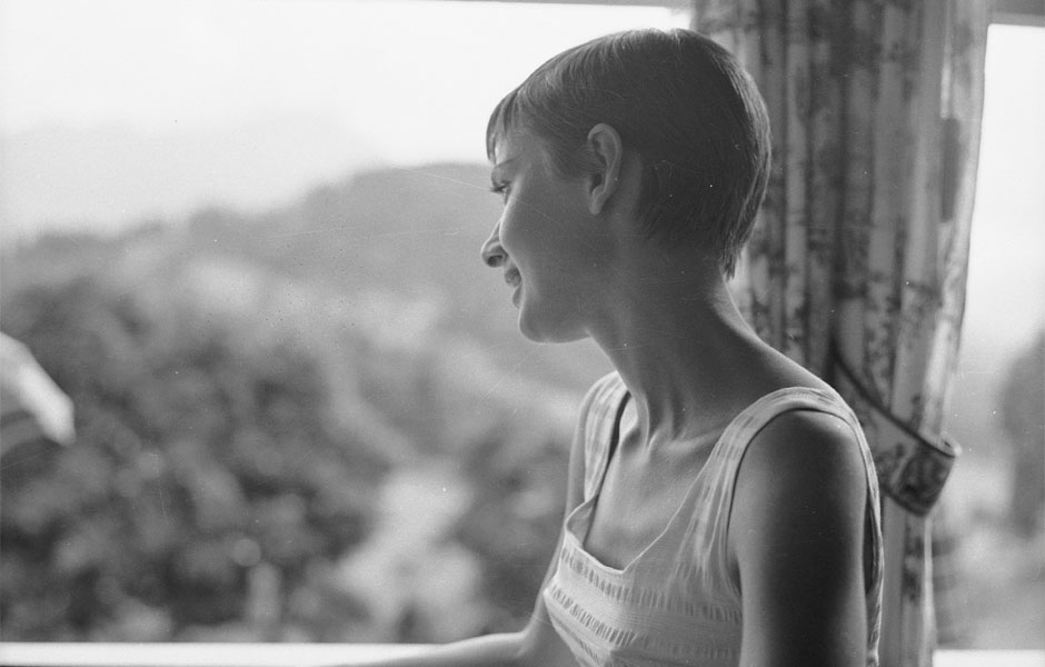 Coupe garçonne : Audrey Hepburn