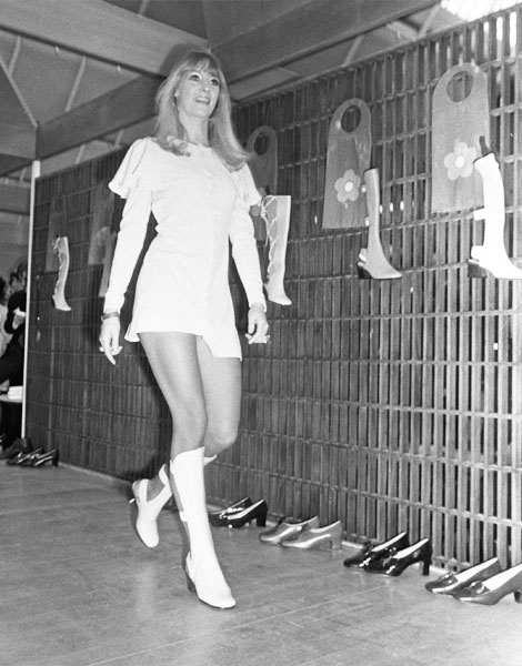 Défilé Mary Quant en 1969
