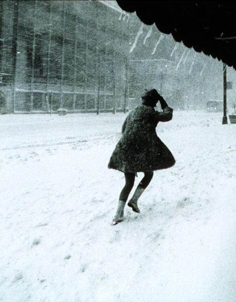 1969, mini-jupe à Manhattan New York