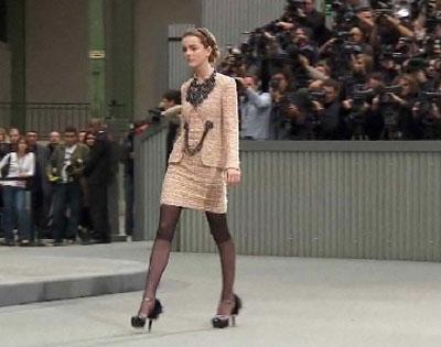 Le tailleur Chanel par Karl Lagerfeld