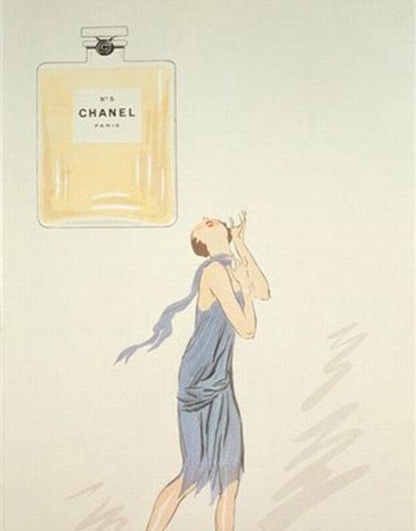 Publicité N°5 de Chanel, 1921
