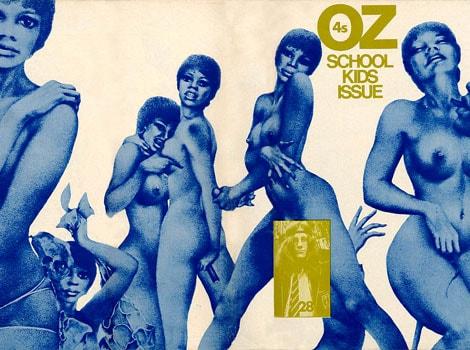 Le magazine hippie underground et psychédélique Oz