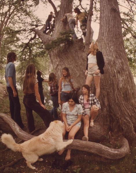 1973, après-midi entre ados au Texas