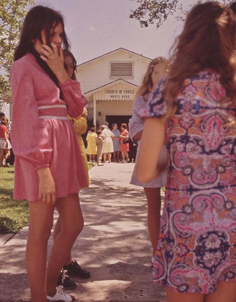 1972, imprimés orientaux seventies