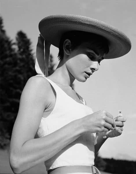 Icône de la coupe garçonne : Audrey Hepburn