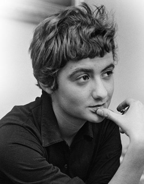 Cheveux courts : Françoise Sagan