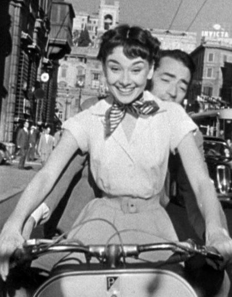 Cheveux courts : Audrey Hepburn