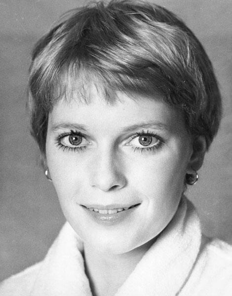 Cheveux courts : Mia Farrow en 1969