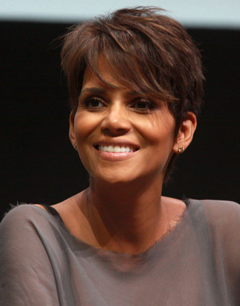 Cheveux longs à courts : Halle Berry en 2013
