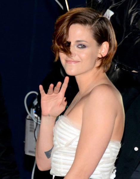 Kristen Stewart cheveux courts, 2015