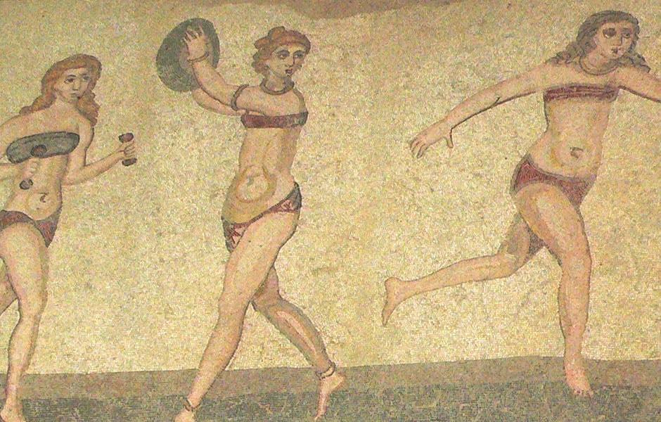 Mosaïque « Les Filles en bikini »