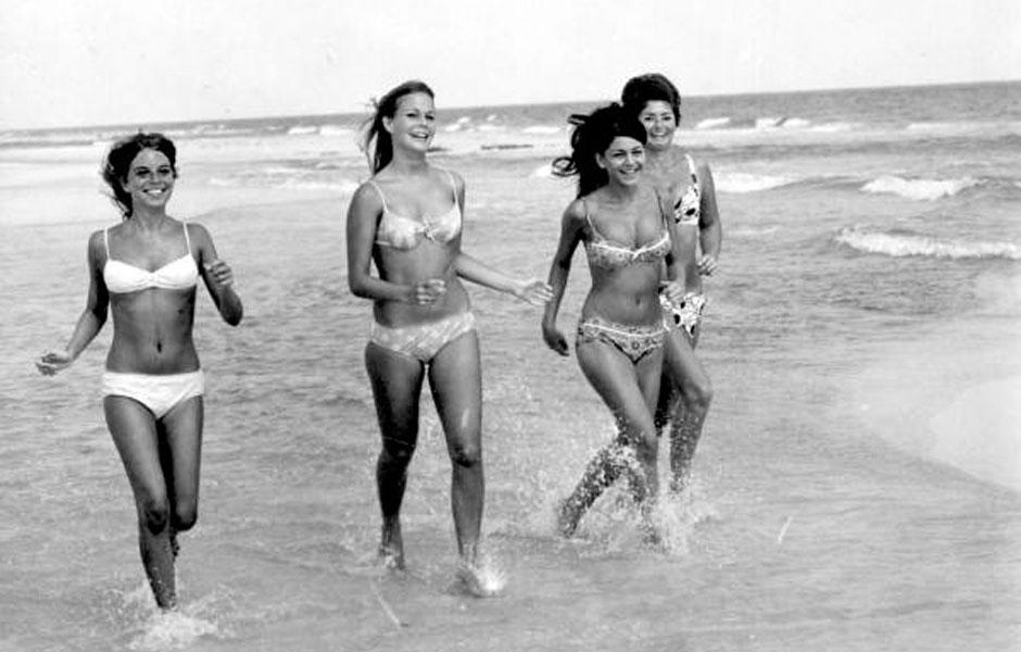 Bikinis en 1969