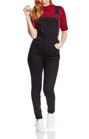 Salopette-slim en jean, New Look