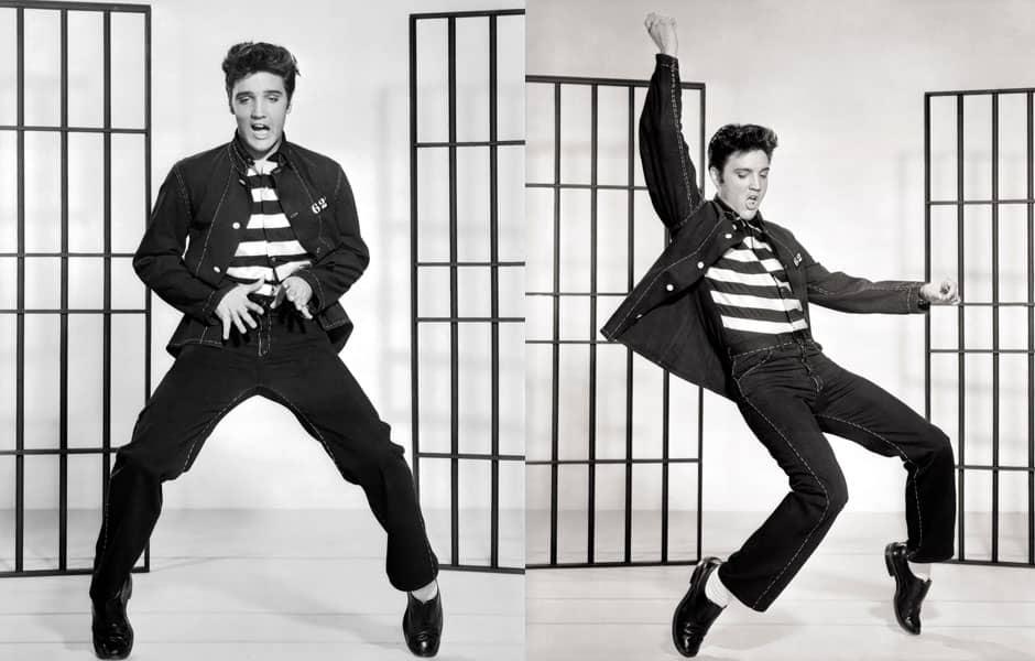 Histoire du Blue jean : Elvis Presley