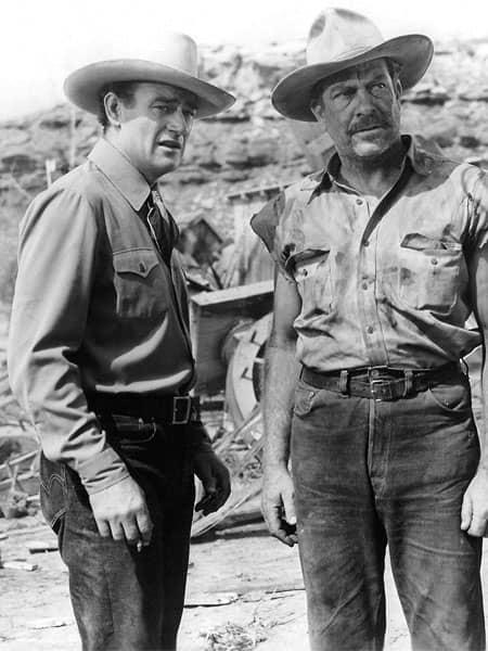 Histoire du blue jean : les cow boys, John Wayne
