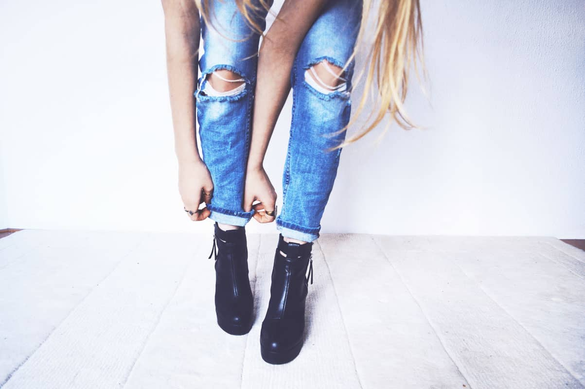 Le jean slim : indétrônable basique
