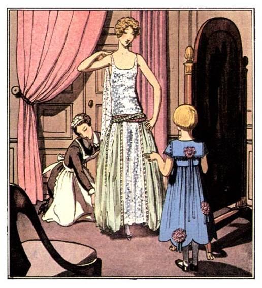 La robe Lanvin des Années Folles