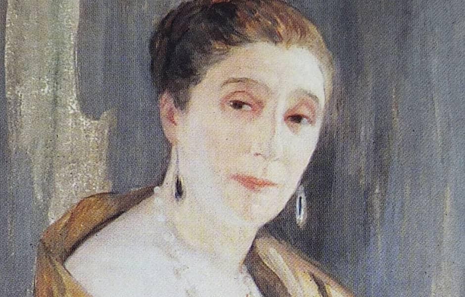 Portrait de Jeanne Lanvin en 1925