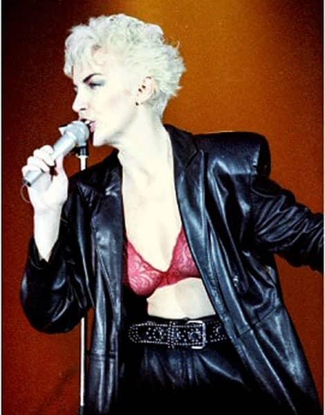 Eurythmics, Annie Lenox, en 1986