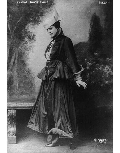 La « femme Lanvin », 1915.