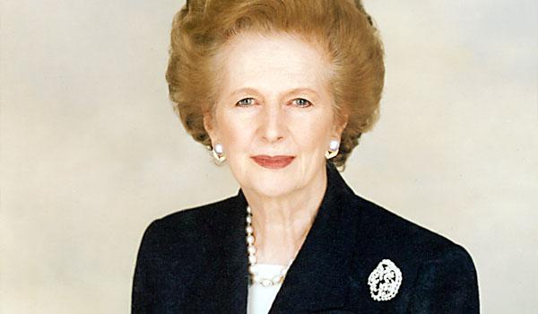 Margaret Thatcher, symbole du