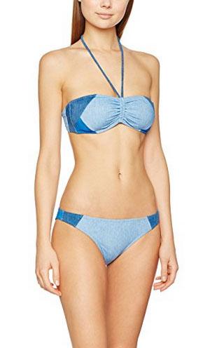 Bikini façon denim, Tommy Hilfiger
