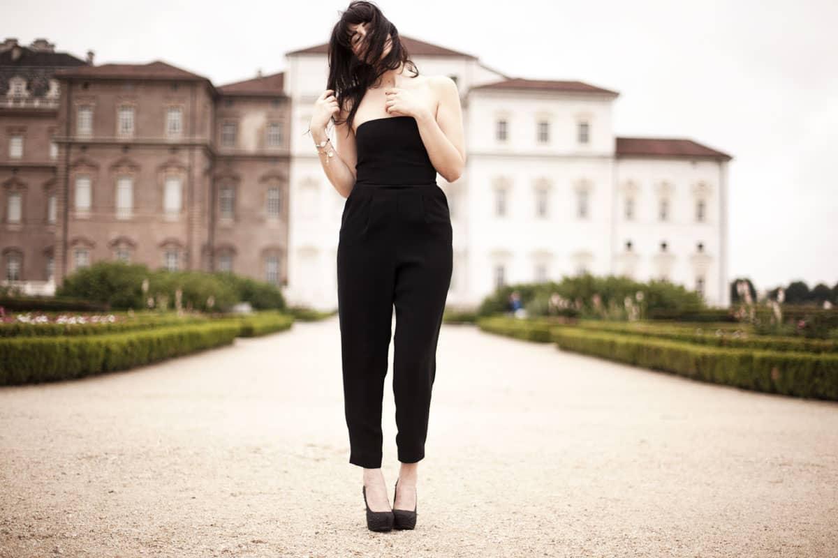 La combi-pantalon,basique mode