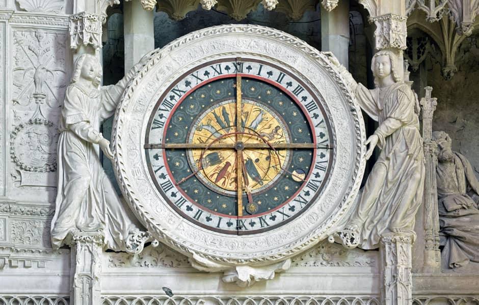 Horloge de la Cathédrale de Chartres, 1528
