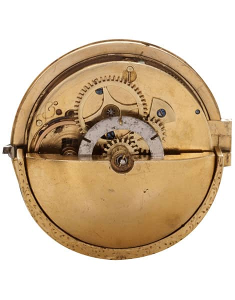 Montre à remontage automatique, autour de 1778