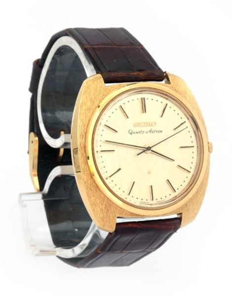 La Seiko Astron, première montre à quartz de l'histoire, 1969
