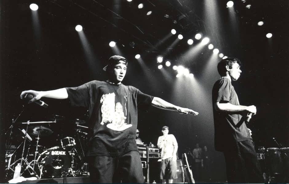 Les Beastie Boys dans les nineties