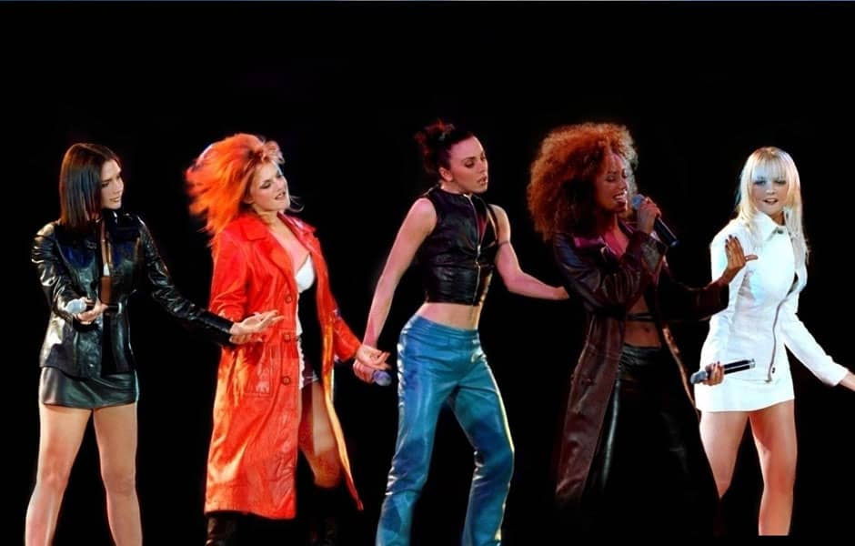 Mode 1990's : les Spice Girls