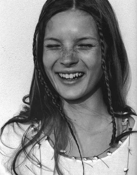 Kate Moss, icône mode des 1990's