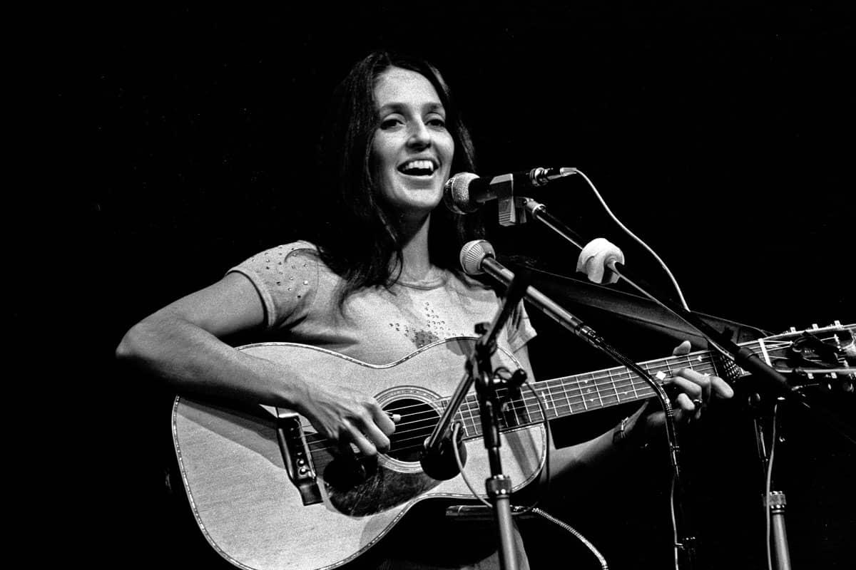 Joan Baez en 1973