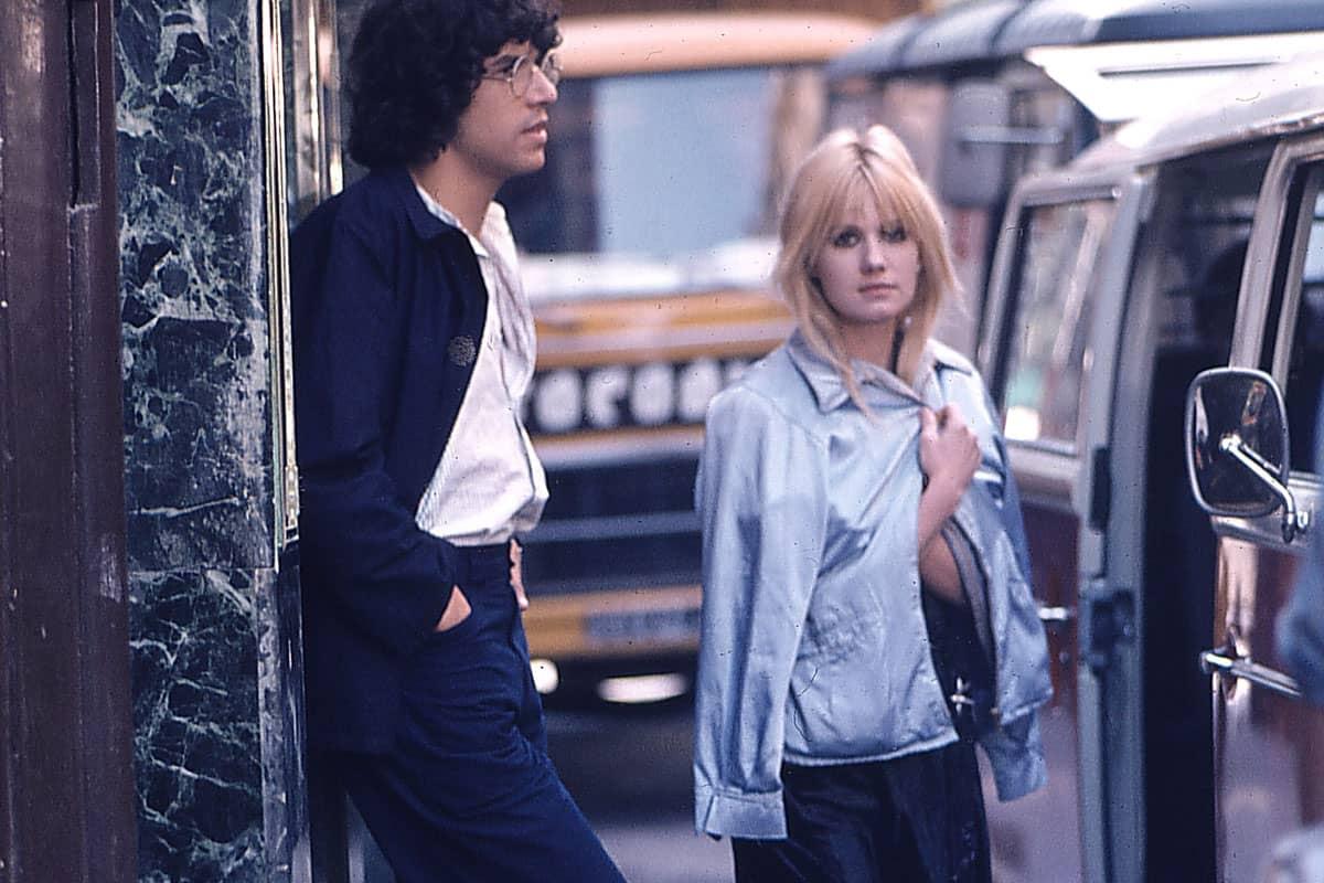 Miou Miou en blouson, 1975