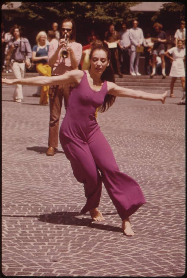 Combipantalon fluide, 1973