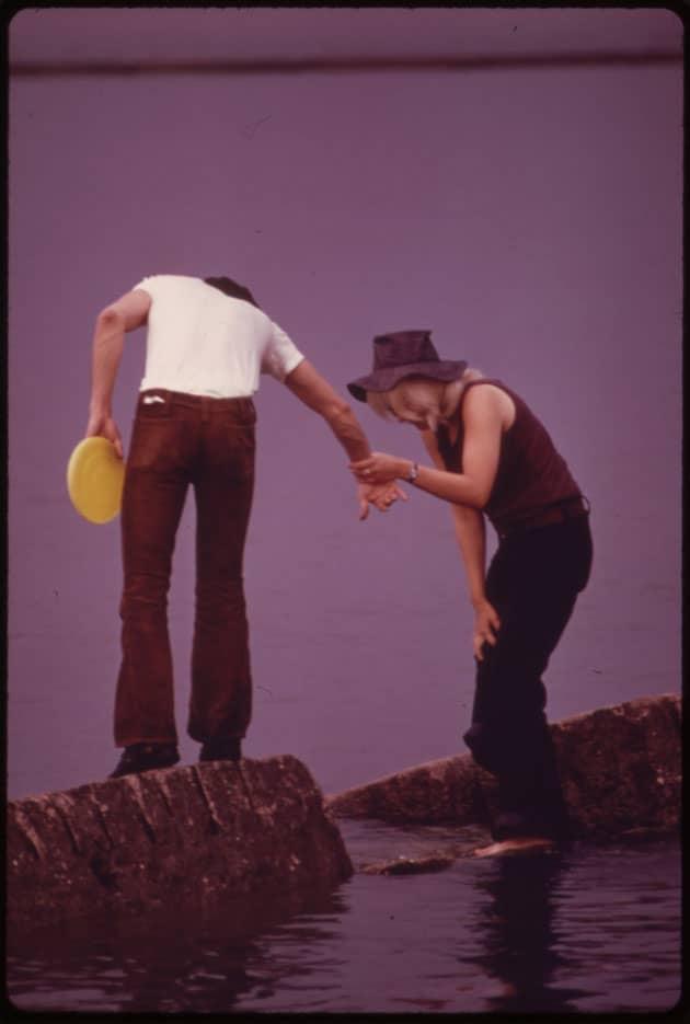 Bootcut en velours côtelé, Chicago, 1973