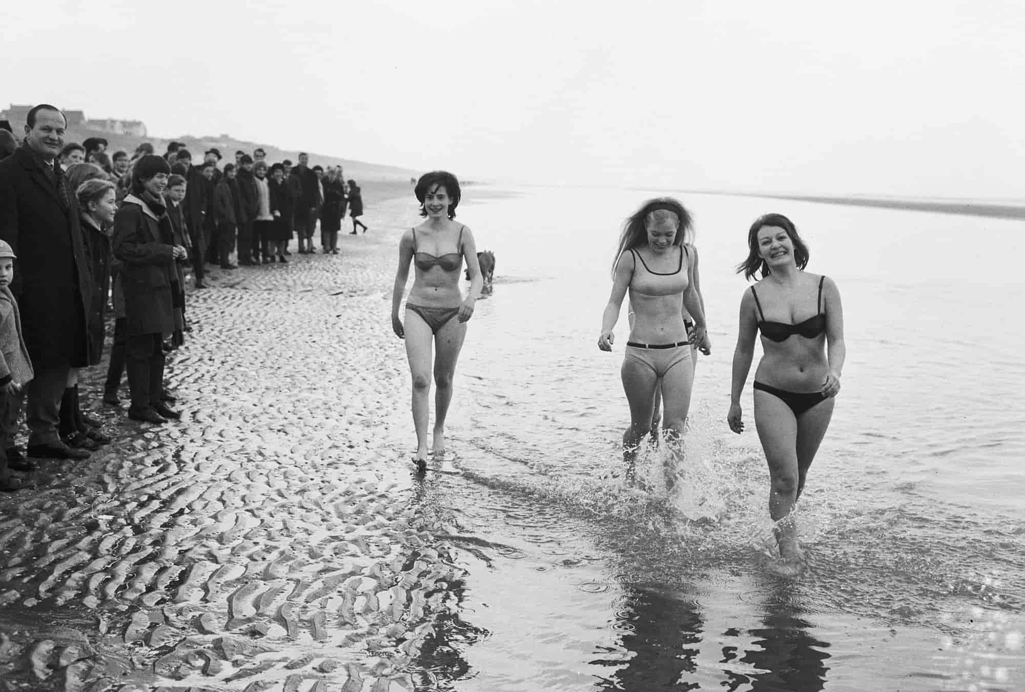 Histoire du bikini, Marilyn Monroe dans les années 1940