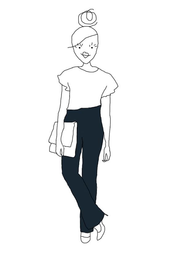 Jean droit et bootcut
