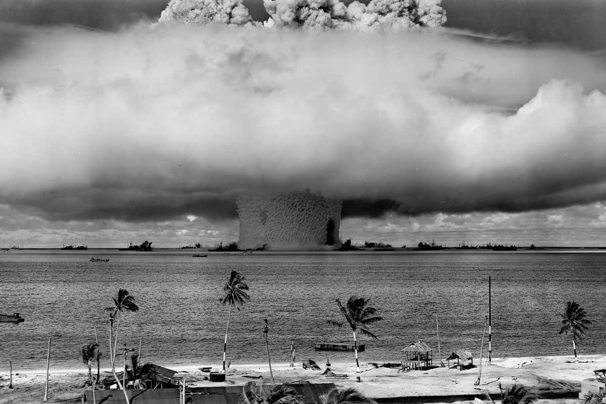 Atoll Bikini, essais nucléaires, 1946