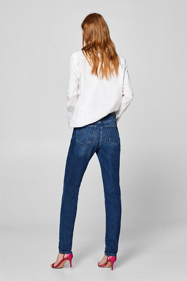 Jeans tendance : taille haute